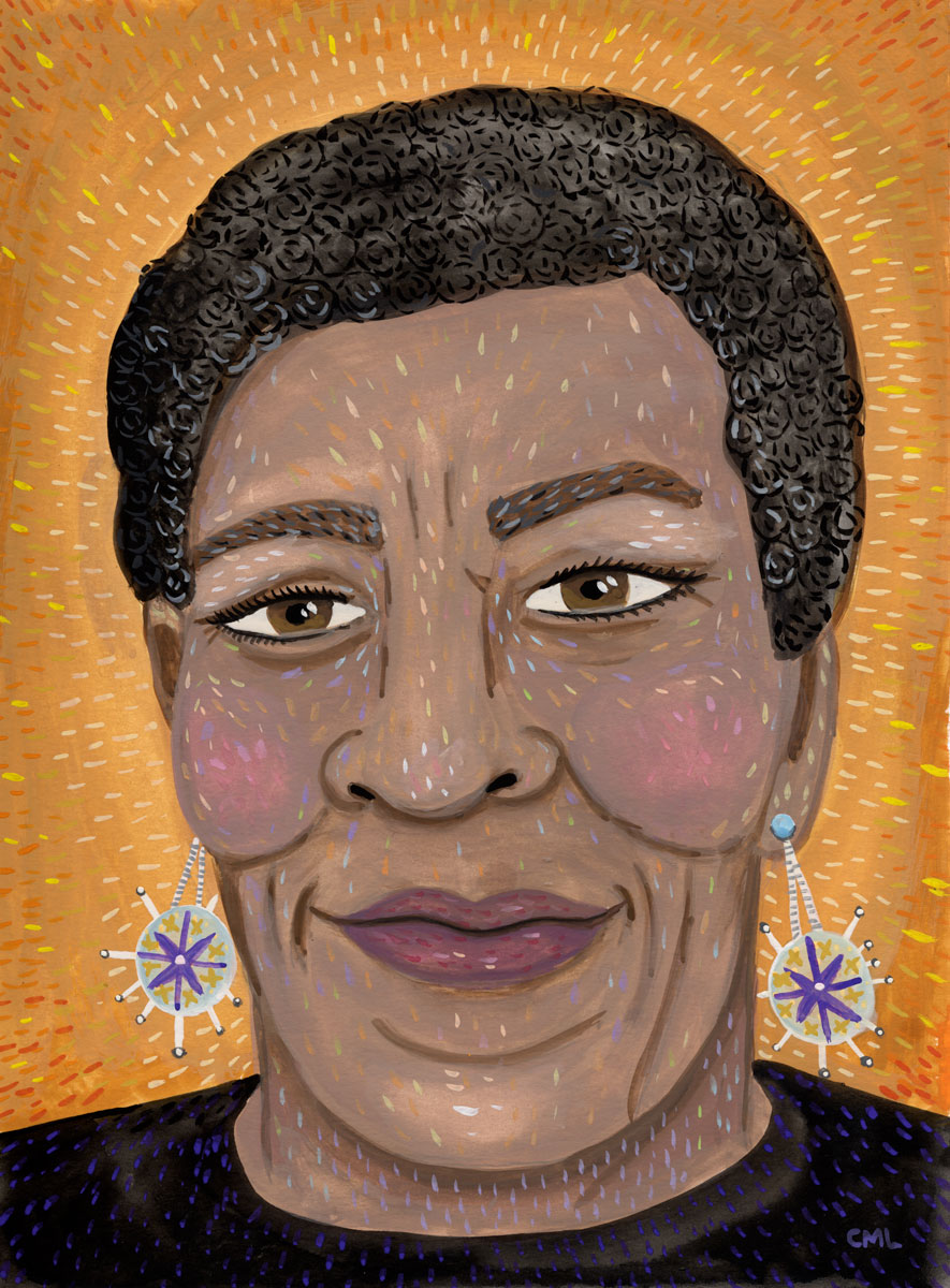 Portrait of Octavia Butler by Christine Marie Larsen